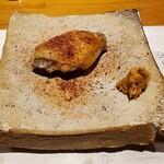 ONZA - メスの手羽先の塩焼き、山わさび、かめびし醤油の三年寝かせた醤油のフリーズドライ