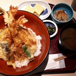 和彩寮 せのうみ - 天丼ランチ1000円