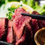 炭焼き牛ステーキ
