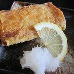 旬処 いさ路 - 太刀魚の唐揚げ