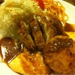地鶏料理と洋食の店 まっくす - まっくすランチ800円