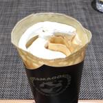 自然卵のクレープ - ブルーベリーのクレープ(税込380円)