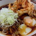 永當蕎麦 - 「天玉蕎麦(440円)」