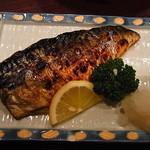 季作 - 塩鯖も香ばしく