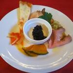 Cuore - 料理写真:本日の前菜盛り合わせ