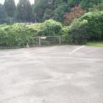 すし松 - 駐車場広いです