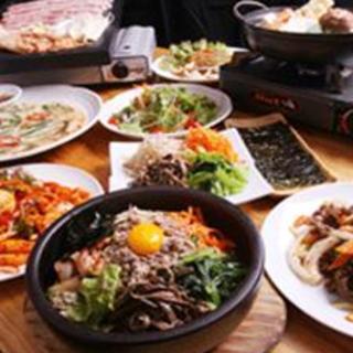 まごころこめて調理した本場韓国の家庭料理をお楽しみください