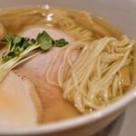 麺屋鈴春 - 塩味玉らーめん@1,000円:麺