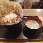 キッチン男の晩ごはん 女の昼ごはん - 野郎丼780円(みそ)