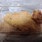 キッチン男の晩ごはん 女の昼ごはん - 持ち帰りチキンカツ70円竜田揚げ60円