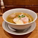 麺屋鈴春 - 塩味玉らーめん@1,000円