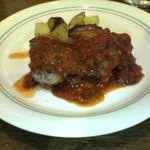 レストラン マリオ - 地ドリモモ肉のカチャトラ風