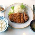 140111 - かつふじ 「上ロース定食」