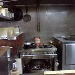 シブ マハール - 厨房