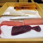 Kagurazaka sushi tamura - 本日のお魚