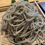 時香忘 - 極粗挽き寒ざらし熟成 もり蕎麦 ¥1200(税別)