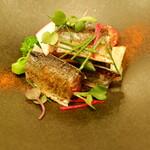 タストゥー - 秋刀魚のマリネ