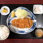 木馬亭 - 料理写真:ヒレ一本揚定食