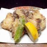 寿司 和食 まえ田 - 地ダコ唐揚げ