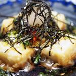 寿司 和食 まえ田 - 揚げ出し豆腐