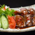 寿司 和食 まえ田 - 料理写真:牛肉ロース網焼き