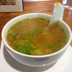 スカスカ - セットのスープ
