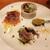 魚タリアン YO - 前菜から魚×イタリアン全開!新鮮な魚介を使った華やかな前菜が4品