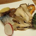 さと水 - 魚料理