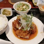 上海食堂 - 料理写真:油淋鶏セット
