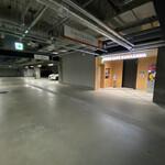 Unagiyondaimekikukawa - 地下駐車場入り口