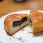 中屋パン - あんドーナツ(税別150円)