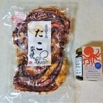 鈴円本舗 - たこ姿焼き(包装)、日間賀・海ソース