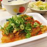 松屋 - 豚キムチ定食