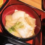楽家 - 白菜と豚バラのうま煮
