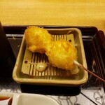 新宿 立吉 - うずらの卵