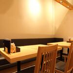 みんなの台所 真 - テーブル(ソファ)席