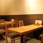 みんなの台所 真 - テーブル席