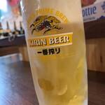 立呑 稼鶏酒場 - 生ビール