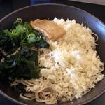 足立製麺所 - 冷したぬき大盛り750円税込