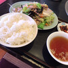 源保苑 - 料理写真:肉入り野菜炒め定食!
