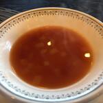三田屋 - スープ