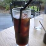 HAPPY HILL - *水出しアイスコーヒーは薄めでしたので、普通のアイスコーヒーの方がよかったかも。