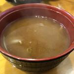 宝 - 赤味噌汁