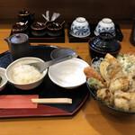 宝 - 牡蠣天丼