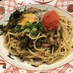 五右衛門 - 明太子と辛子高菜(税込み1100円)