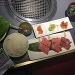 140056774 - 焼肉せんりゅう味わい3種セット(¥2000)