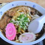 秋元食堂 - 黒石つゆやきそば並(500円)