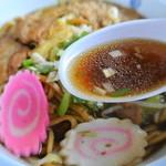 秋元食堂 - ソースと和風出汁のハーモニー♪