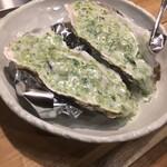 ITALIAN&OYSTER SEASON - 白ワイン蒸し岩海苔ソース