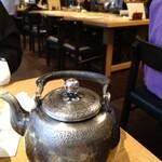 蕎麦前 山都 - 蕎麦湯は さらさらタイプ